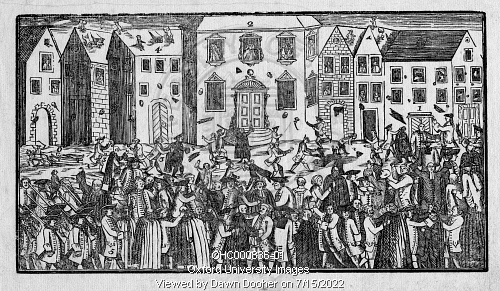 Town and Gown Riots by Oxford University Images